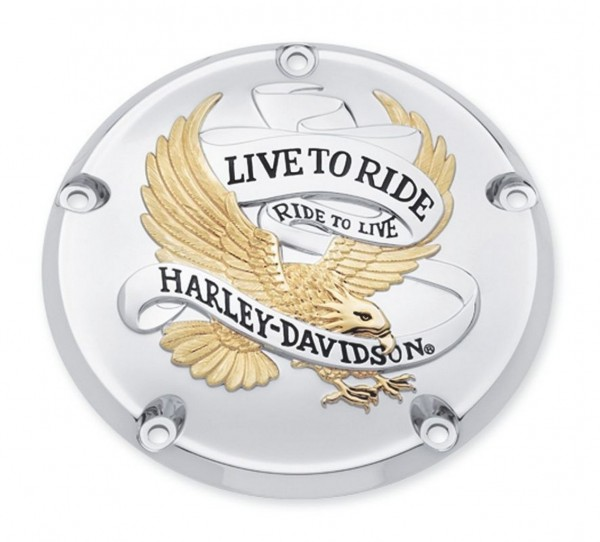 LIVE TO RIDE GOLD DERBY DECKEL