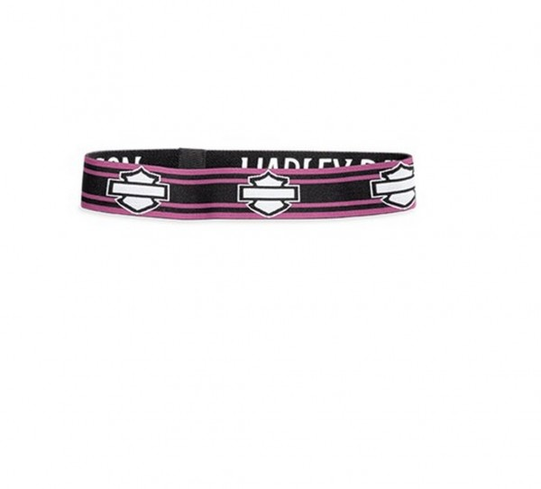 REVERSIBLE RACE STRIPE HEADBAND