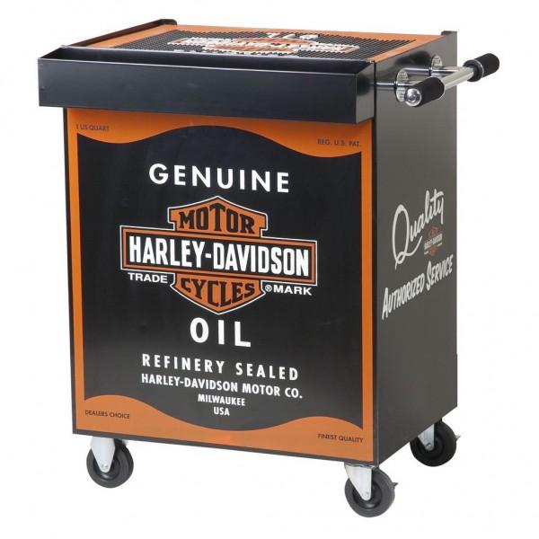 H-D® OIL CAN BEVERAGE CART