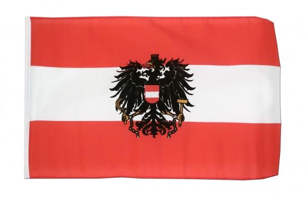 KLEINE ÖSTERREICH ADLER FLAGGE - 30 x 45 cm