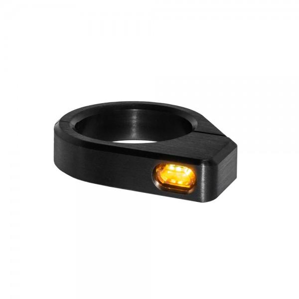 LED GABELBLINKER MICRO / ALUMINUM / BLACK
