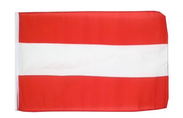 KLEINE ÖSTERREICH FLAGGE - 30 x 45 cm