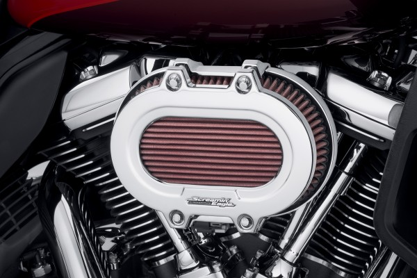 SCREAMIN' EAGLE EXTREME VENTILATOR LUFTFILTERDECKEL - CHROME