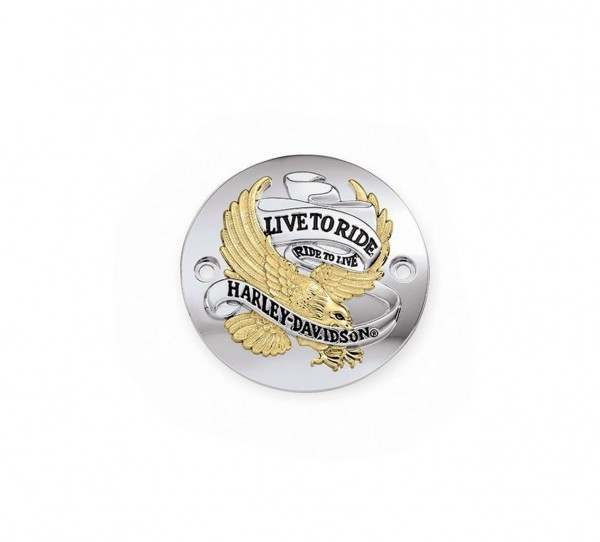 LIVE TO RIDE GOLD TIMER DECKEL